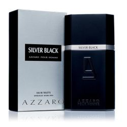 AZZARO SILVER BLACK MASCULINO EAU DE TOILETTE 100ML