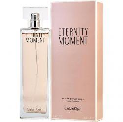 CALVIN KLEIN ETERNITY MOMENT FEMININO EAU DE TOILETTE 100ML