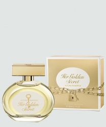 ANTONIO BANDERAS HER GOLDEN SECRET FEMININO EAU DE TOILETTE 80ML