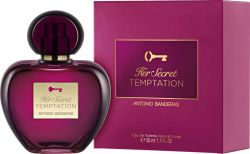 ANTONIO BANDERAS HER SECRET TEMPTATION FEMININO EAU DE TOILETTE 50ML