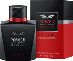 ANTONIO BANDERAS POWER OF SEDUCTION EXTREME MASCULINO EAU DE TOILETTE 100ML