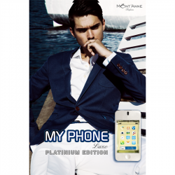MONT'ANNE MY PHONE PLATINUM LUXE MASCULINO EAU DE PARFUM 100ML
