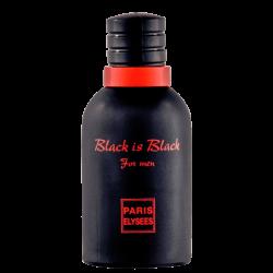 PARIS ELYSEES BLACK IS BLACK MASCULINO EAU DE TOILETTE 100ML