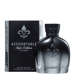 OMERTA CONSCENTRA ACCOUNTABLE STYLE EDITION MASCULINO EAU DE TOILETTE 100ML
