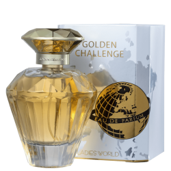 OMERTA CONSCENTRA GOLDEN CHALLENGE LADIES WORLD FEMININO EAU DE PARFUM 100ML