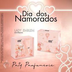 KIT MONTBLANC EMBLEM LADY FEMININO (EAU DE PARFUM 50ml + LOÇÃO CORPORAL 100ml)