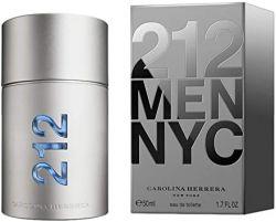CAROLINA HERRERA 212 MEN NYC EAU DE TOILETTE 50ML