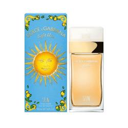 DOLCE & GABBANA LIGHT BLUE SUN EAU DE TOILETTE POUR FEMME 100ML