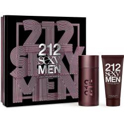 KIT 212 SEXY MEN EAU DE TOILETTE 100ML + AFTER SHAVE BALM 100ML