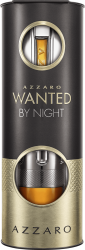KIT AZZARO WANTED BY NIGHT EAU DE PARFUM 100ML + EAU DE PARFUM 15ML